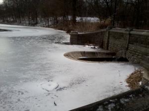 * frozen lake, yo *