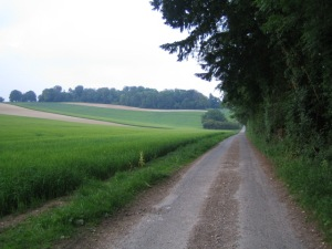 * a Roman road, yo *