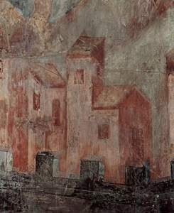 Frescoes in the Upper Church of San Francesco in Assisi, southern transept, scene: Apocalypse, Detail by Cimabue
