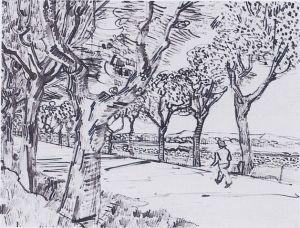 629px-Van_Gogh_-_Auf_dem_Weg_nach_Tarascon